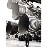 Space NASA Von Braun Saturn V F-1 Rocket Thrusters Foto