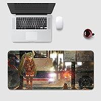マウスパッド ゲーミング 初音ミク Hatsune Miku マウスパッド 多用途の 大型 FPSゲーム コンピューター 低反発 ゲーム専用 キーボード用 超滑らかで狙った敵を素早くターゲットします
