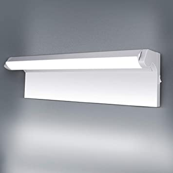 Led Vanity Lights Oowolf 16 33 Inch 15w 6000k 120 Rotatable Bathroom Vanity Light Fixtures With Switch Led Wall Lamp 1500lm Modern Make Up Mirror Front Light Cool White Amazon Com