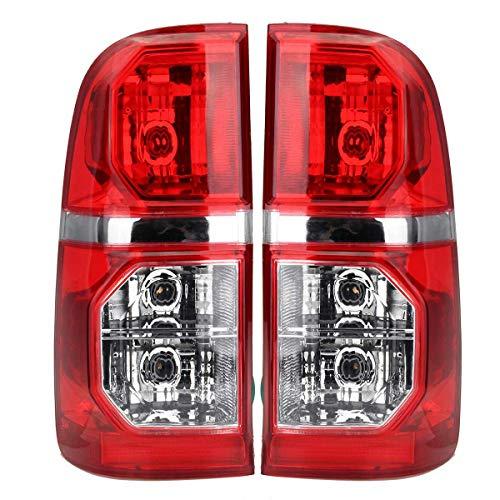 1 par de luces traseras para Hilux Vigo Pickup trasera de esquina de freno, luz antiniebla, luz de parada 2012 2013 2014 2015 2016
