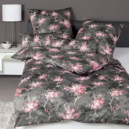 Janine Design Interlock Feinjersey Bettwäsche Carmen 53097-01 chateaurosa 1 Bettbezug 135 x 200 cm + 1 Kissenbezug 80 x 80 cm