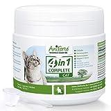AniForte 4in1 Complete Cat 60g - Rundumversorgung für Katzen, Reich an Antioxidantien, Vitaminen, Mineralien, Pulver mit Taurin, Kollagen für Gelenke, Nervensystem, Immunsystem, Magen-Darm