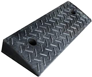 Truck Ramps, Family Garage Service Ramps The Mall Supermarket Vehicle Ramps Black Rubber Loading Ramps Size: 49.5 * 14.5 *...
