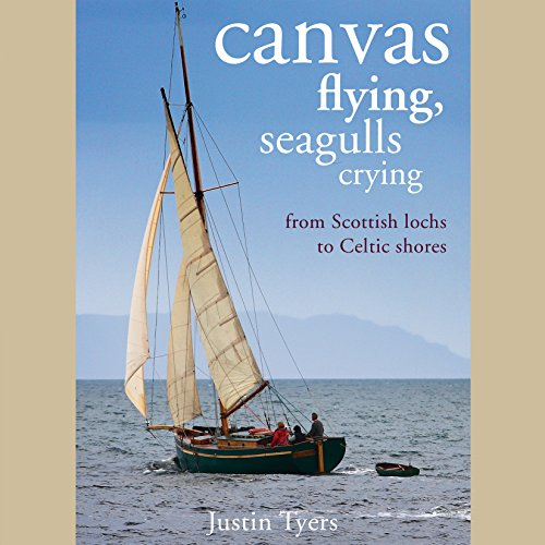 Canvas Flying, Seagulls Crying audiobook cover art