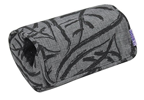 The Original Dooky 126935 Coussin Porte oeuf, Grey Leaves