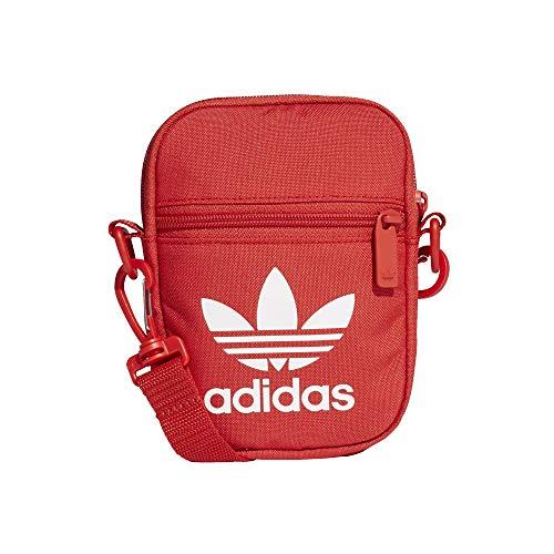 adidas Festival B Trefoil Mini Bag - Bolso (talla única), color rojo