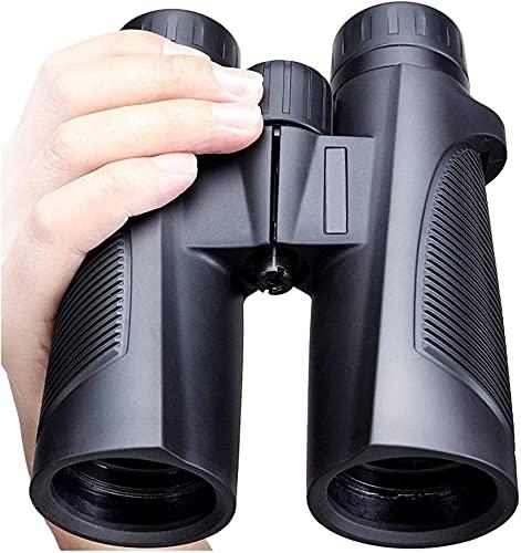 Telescopio para Adultos, prismáticos de 10x42 para Adultos, niños, prismáticos Resistentes al Agua de la Vida compactos con la Noche en Condiciones de Poca luz BAK17 Prism FMC Optics Binoculares Tel