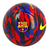 NIKE FC Barcelona Temporada 2020/21-FCB NK PTCH-FA20CQ7883-620 Balón de Fútbol, Unisex, Noble Red/Loyal Blue/(Varsity Maize), 4