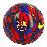 NIKE FC Barcelona Temporada 2020/21-FCB NK PTCH-FA20CQ7883-620 Balón de Fútbol, Unisex, Noble Red/Loyal Blue/(Varsity Maize), 5