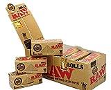RAW Natural Unrefined Rolls 3m (9ft) by RAW 12 unidades per caja