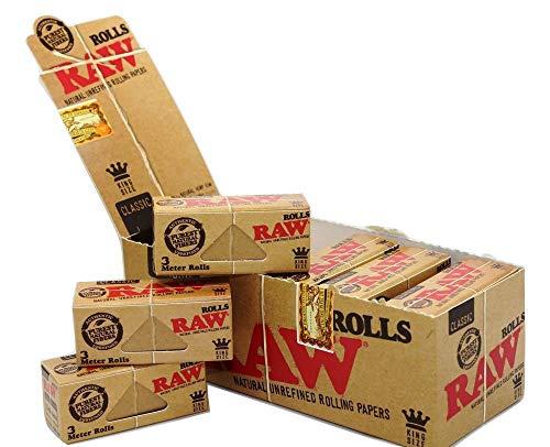 RAW Classic Rolls 12 Rollen a 3 m