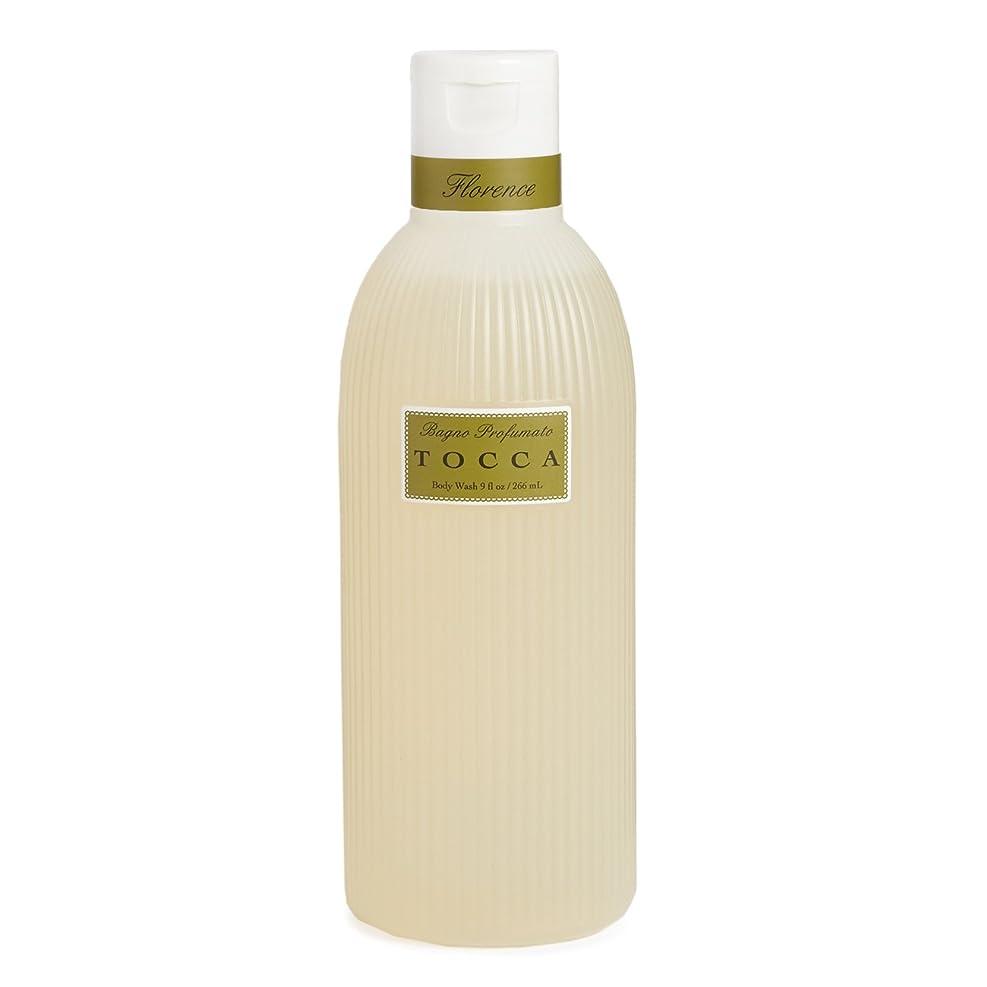 メッセンジャーセミナー快適トッカ(TOCCA) ボディーケアウォッシュ フローレンスの香り 266ml(全身用洗浄料 ボディーソープ ガーデニアとベルガモットが誘うように溶け合うどこまでも上品なフローラルの香り)