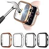 FITA [4 Piezas] Protector Funda Compatible con Apple Watch Series 6/5/4/SE...