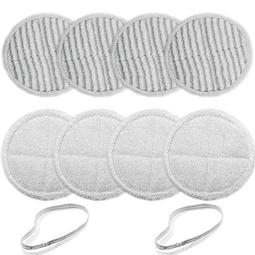 BIHARNT 2124,2039A,2307,23157,20391,20399 Replacement Mop Pads Compatible with Bissell Spinwave Mop(8 Pack)