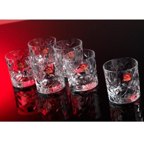 RCR Kristallglas Laurus / 260 ml / Spülmaschinenfest / geeignet für bis zu 6 Personen