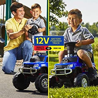Innovative,Awesome and Fun Huffy 12V Battery-Powered Remote-Control Monster Truck Ride-On Toy,This Ride-on Converts from a Battery-Powered Quad into a RC Monster Truck,Great Gift Idea