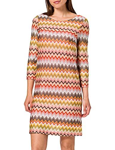 More & More Damen 11023651 Lässiges Kleid, Mehrfarbig_4041, 36