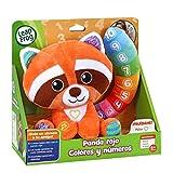 Leap Frog Panda Rojo Colores y números, Juguete Bebe +6 Meses (Cefa Toys 00911)