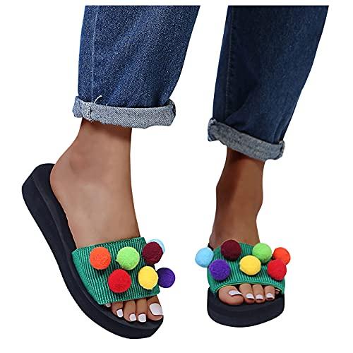 Tongs pour femme - Mode - Bonbons - Couleurs - Balles de...
