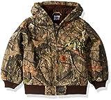 Carhartt Boys' Big Mossy Oak Camo Active Jacket, Browntree Print, XXS-4/5