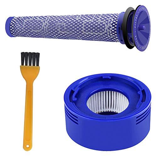 Blue Power Kit de Filtro de Reemplazo Compatible Dyson V8 V7 Pre...