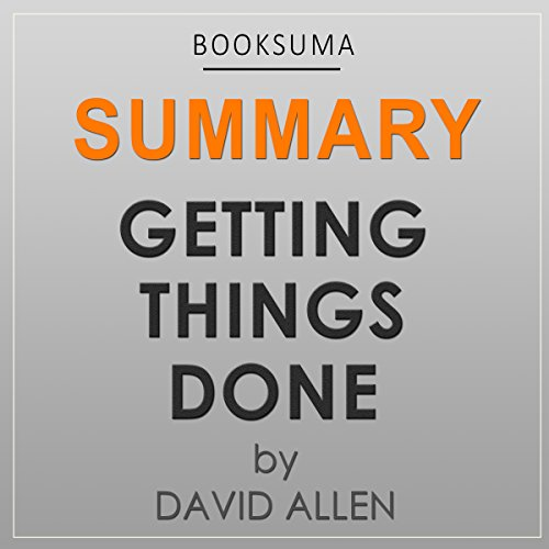 Summary: Getting Things Done by David Allen audiobook cover art