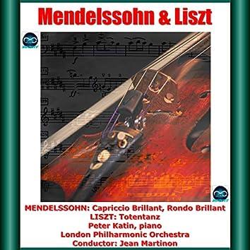 Mendelssohn: Capriccio Brillant, Rondo Brillant - Liszt: Totentanz