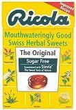 Ricola Swiss Sugar Free Herb with Stevia herbal drops 45g (Pack of 10)