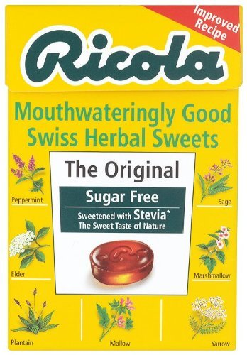 Ricola Original Swiss Herb Drops Zuckerfrei 45g x 20 Packungen