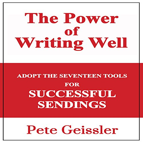 Writing: Adopt the Seventeen Tools for Successful Sendings audiobook cover art
