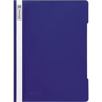 /Cartellina Blu Fontana 102010930/ A4, in PP, glasklares Deckblatt