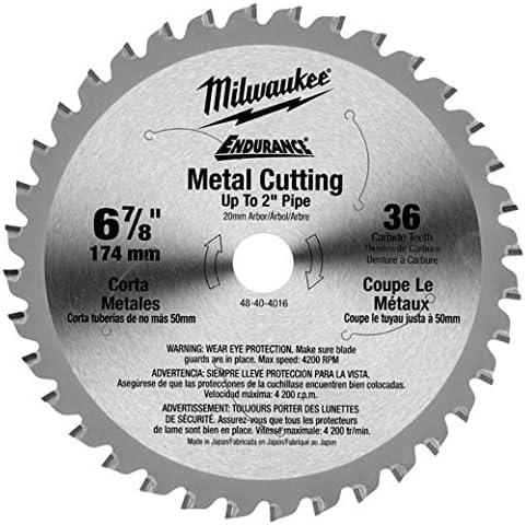 Milwaukee 48-40-4016 Ferrous NEW Metal Cuttint Circular High quality new Blade Saw 6-