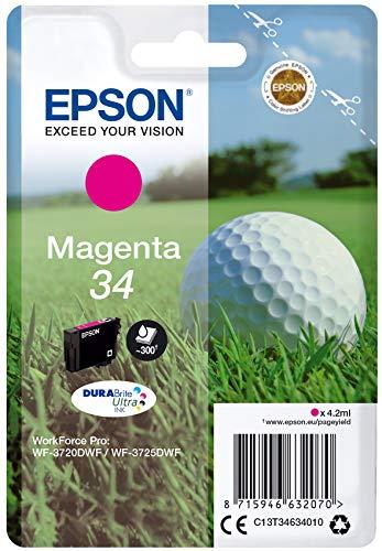 Epson C13T34634020 4.2ml Magenta cartuccia d'inchiostro