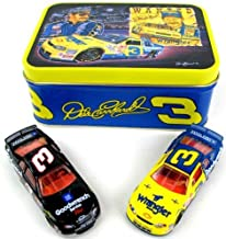 1999 Winston All Star Race Wrangler & Goodwrench Service 2 Car Set With Collectible Sam Bass Rendition Tin Dale Earnhardt #3 1/64 Scale Diecast Cars Action Racing Collectables ARC Limited Edition
