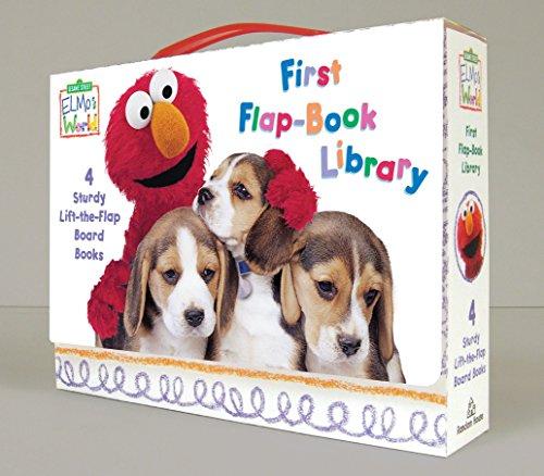 Elmo's World: Sesame Street: First Flap-book Library: Balls!; Puppies!; Babies!; Food! (Sesame Street Elmo's World)