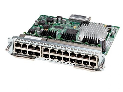 SM-X-ES3-24-P Cisco SM-X Layer 2/3 Etherswitch Service Module - Switch - 24 Ports - Managed - Plug-In Module. New Retail Factory Sealed. (Renewed)