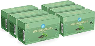 Marca Amazon - Happy Belly Bolsitas de té verde descafeinado (150 bolsitas)