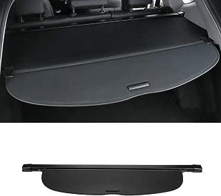 MotorFansClub Rear Trunk Cargo Cover Security Shade Shield for Honda CR-V CRV 2017-2019 Black (US Shipment)