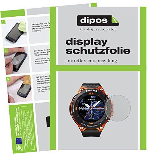 dipos I 6X Pellicola Protettiva antiriflesso Compatibile con Casio WSD-F20 Pellicola di Protezione