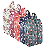 Zmart Portable Storage Bags Travel Shoe Organizer Waterproof Nylon Space Saving