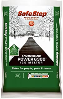 North American Salt 56850 Power 6300 Enviro Blend Ice Melter, 50-Pound