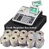 EPOSBITS® Rollos para caja registradora Casio SE-S3000 SES3000 SES SE S3000 S 3000 - 10 rollos