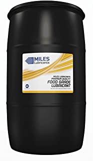 Miles Fg Comp Oil ISO 68 Food Grade Full Synthetic Pao Based Rotary Compressor Fluid Nsf H1 Regirstered 55 Gallon Drum