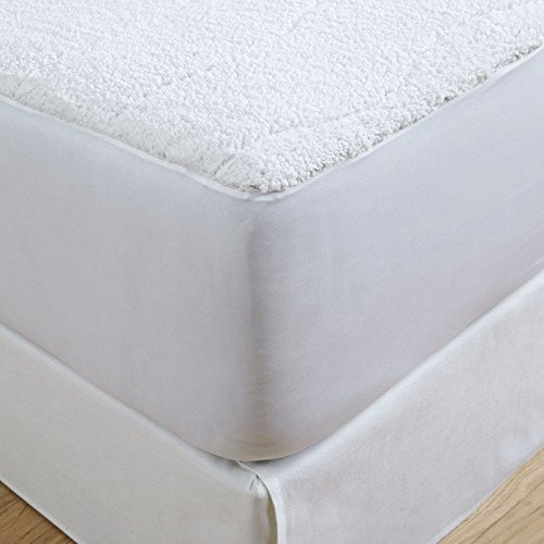Serta | Luxurious Sherpa Heated Electric Mattress Pad with Safe & Warm Low-Voltage Technology (Queen)