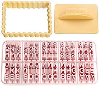 Zenker 44827Emporte-pièce avec des Lettres, Plastique Multicolore