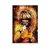 jiandan Tina Turner Poster, dekoratives Gemälde, Leinwand,