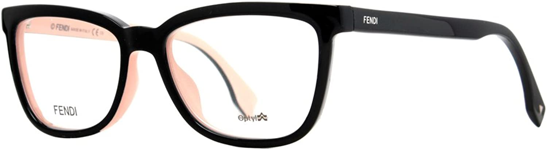 FENDI Eyeglasses 0122 0MG1 Black Pink 51MM