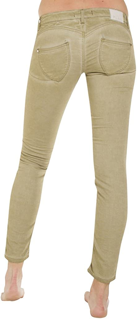 Carrera Jeans - Jogger Jeans 788 pour Femme, Style Capri, Couleur Unie, Tissu Extensible, Taille Push up, Taille Basse 751 - Vert
