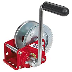 Sealey GWE1200B manual cable winch, toothed, with brake, 540 kg load capacity