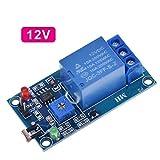 Kits para Arduino, Interruptor de 12V DC 5V del Sensor de luz LDR PHOTOSWITCH Fotorresistor relé del Circuito de sensores Módulo de luz de detección fotosensible (Talla : DC12V)